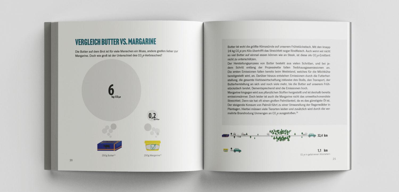 Leseprobe von dem Buch Vergleichsweise Klimafreundlich: Vergleich Butter vs. Margarine