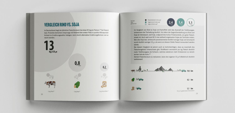 Leseprobe von dem Buch Vergleichsweise Klimafreundlich: Vergleich Rind vs. Soja