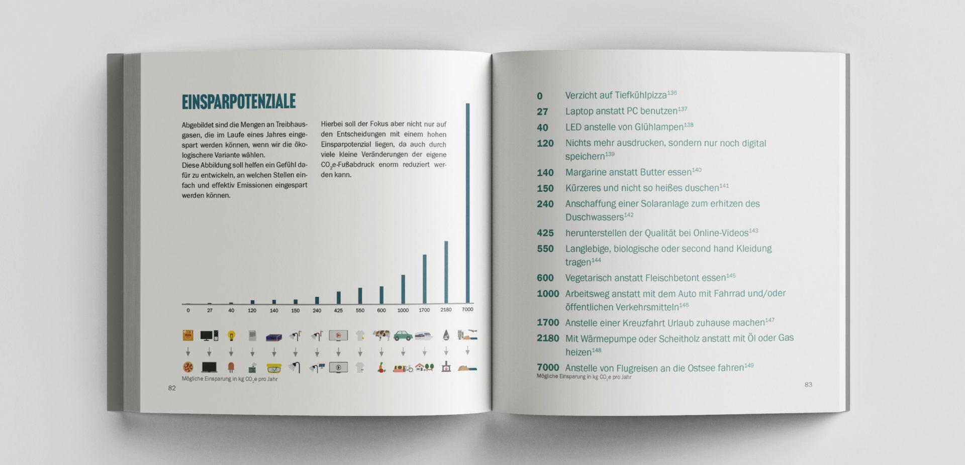 Leseprobe von dem Buch Vergleichsweise Klimafreundlich: Einsparpotenziale an Treibhausgasen für den Klimaschutz