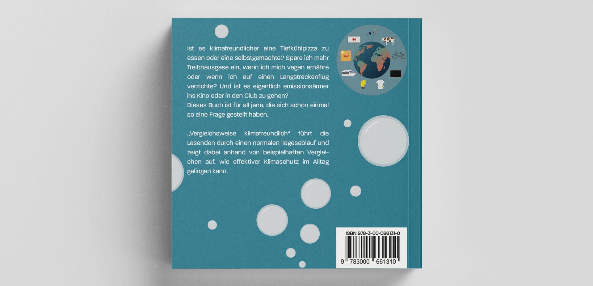 Backcover von dem Buch Vergleichsweise Klimafreundlich